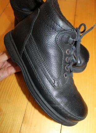 41 разм. зима. ботинки dansko. кожа на широкую стопу