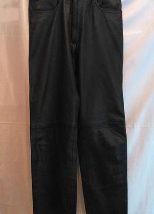 Отличные кожаные штаны с подкладкой.