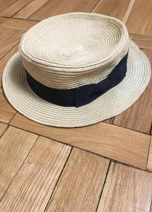 Шляпа соломенная bershka