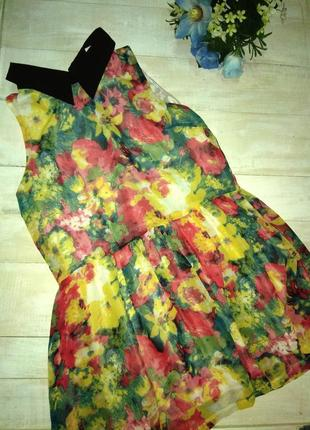 Нарядное платье туника trend up