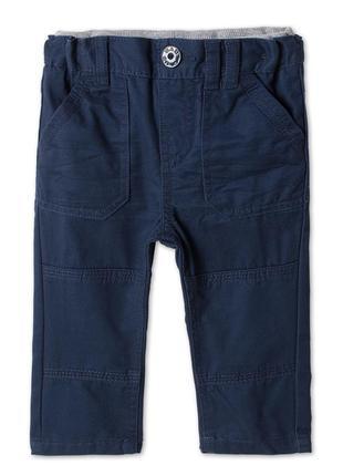 Новые хлопковые брюки р.86 фирмы baby club от c&a