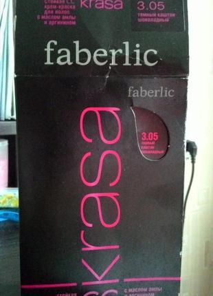 Крем-фарба для волосся faberlic