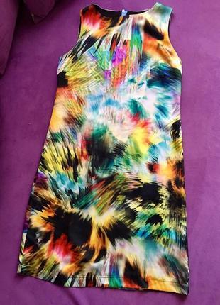 Платье с натурального шелка ted baker
