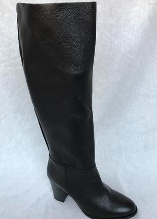 Clarks  кожаные сапоги 38-42р.