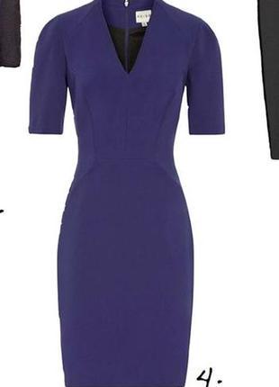 Синее стрейчевое  платье по фигуре,xs- s.