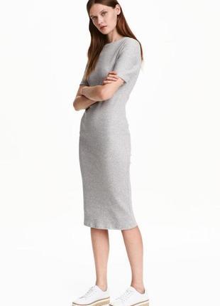 Новое платье миди h&m оригинал