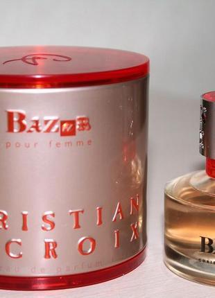 Christian lacroix bazar pour femme 50ml женская туалетная вода (оригинал)