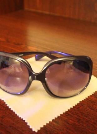 Женские ретро очки фиолетовые модные очки