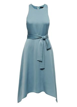 Платье (racer-neck fit-and-flare dress)