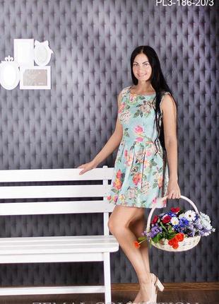 Сукня в квітковий принт zemal