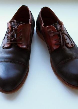 Мужские кожаные туфли aldo