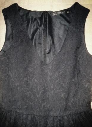 Приталенное платье с юбкой колокол zara s