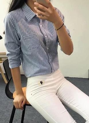 Блуза рубашка разные цвета!