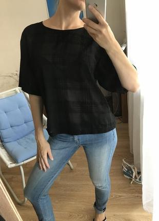 Блуза-футболка оверзайз numph