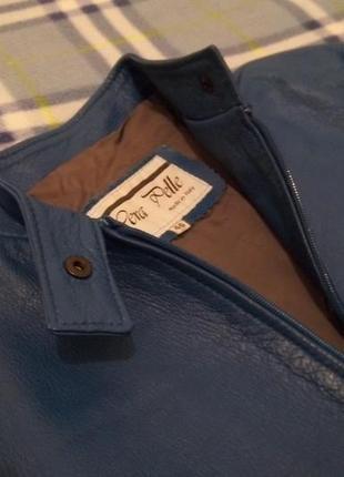 Куртка из натуральной кожи, италия