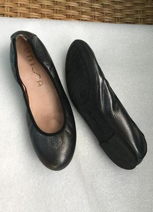 Туфли кожаные unisa