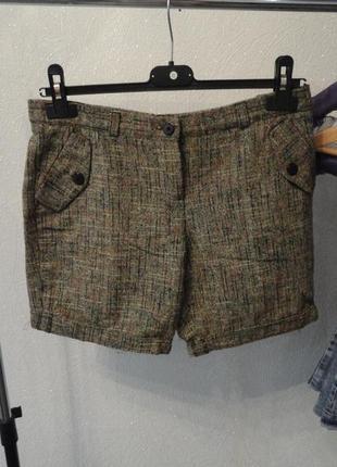 Теплые короткие шорты, демисезон 44 46