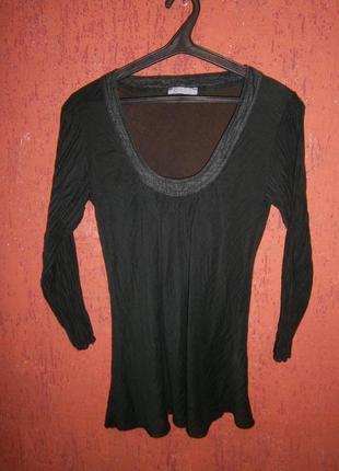 Тонкая блуза ,шелк и хлопок
