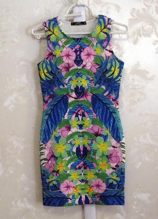 Цветочное платье по фигуре miss selfridge