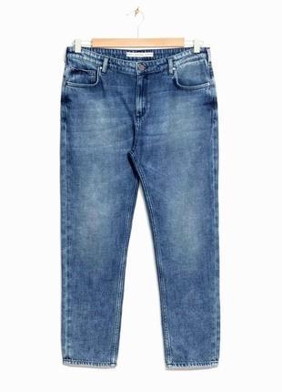 Доступно - бойфренды 7/8 cropped boyfriend jeans *& other stories* 28 р.