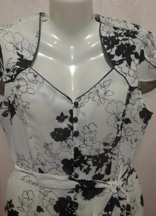 Блузочка с поясом шифоновая  (пог 54 см )