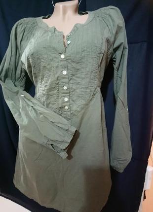Рубашка из натуральной ткани* best connection *размер m