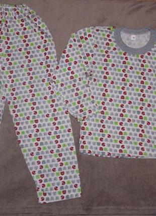Отличная пижама без утепленияо.80,86,110,116