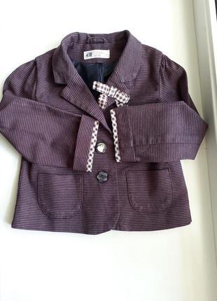 Пиджак h&m 3-4 года