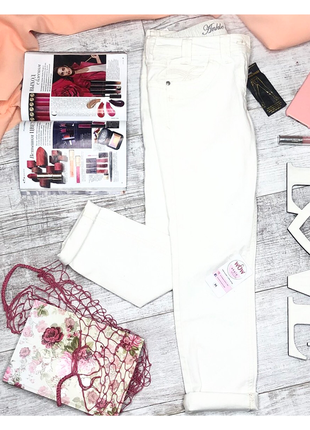 Брюки / джинсы / штаны / белые