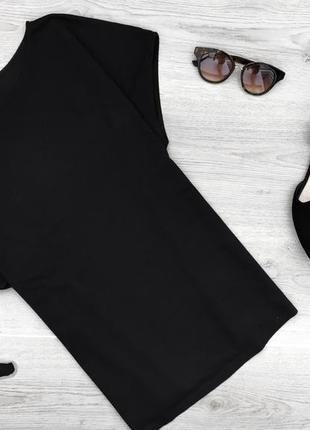 Актуальная длинная футболка прямого покроя с шёлковой спиной cos