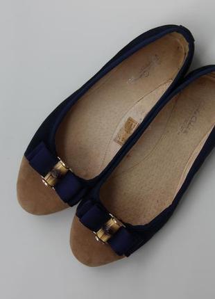Кожаные туфли / балетки giulia gabrielli 24 см