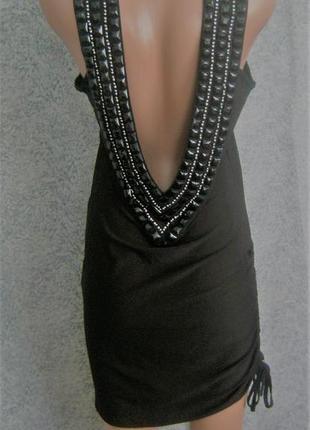 Платье с красивой спинкой на новый год m-l, распродажа (цены снижены на 50-70%)