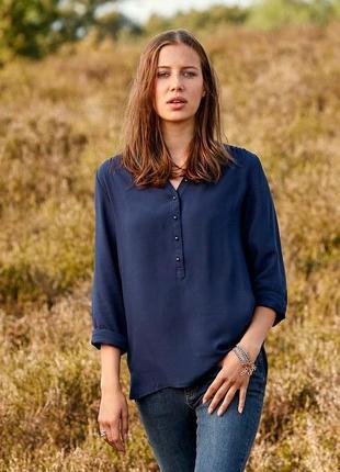 Блузка рубашка размер 46 наш tchibo тсм