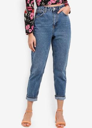 Крутые мом джинсы/бойфренды topshop moto vintage mom jeans