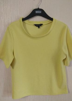 Лимонный яркий желтый свитшот new look размер l 12