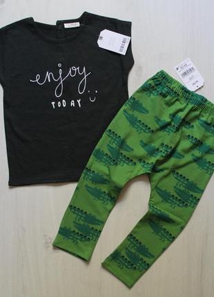 Комплект (набор, костюм) next 1,5-2 года (86-92см) штаны и футболка