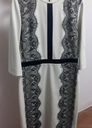 Нарядное платье gizia с кружевом