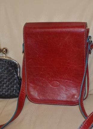 Лот сумка италия +2 кошелька