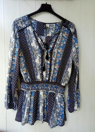 Блуза в стиле бохо h&m