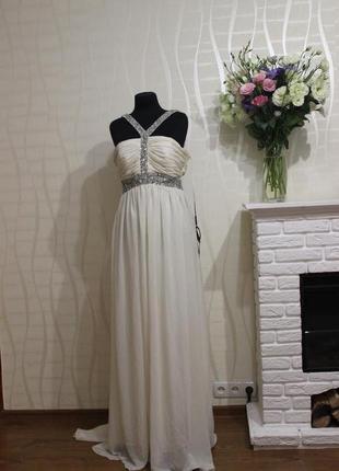 Свадебное, вечернее платье с италии