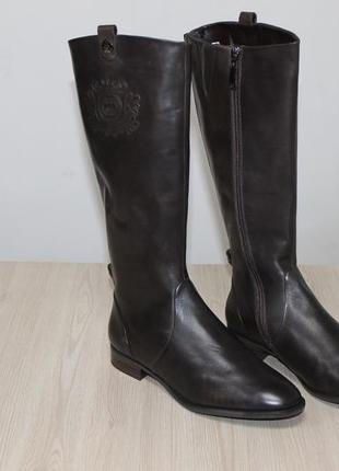 Элегантные немецкие сапоги на широкую голень gerry weber sena 03, 38 размер