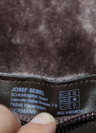 Элегантные немецкие сапоги на широкую голень gerry weber sena 03, 38 размер5