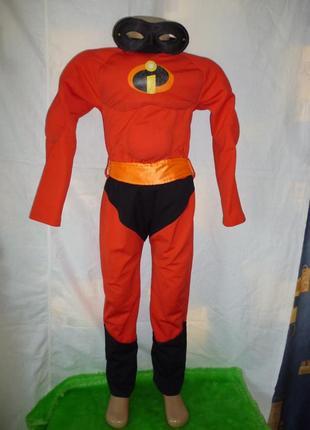 Костюм супергероя на 4-6 лет