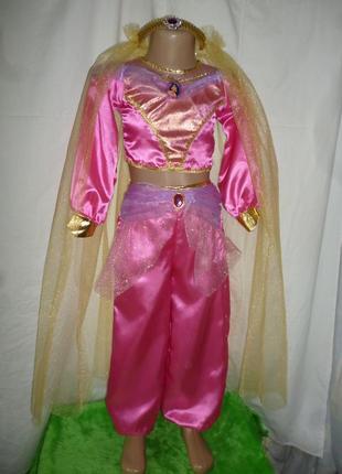 Костюм принцессы жасмин на 5-7 лет
