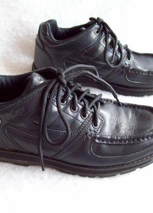 Ботинки кожа lee cooper, стелька 25 см.