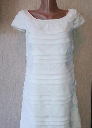 Платье french connection цвета айвори р.м