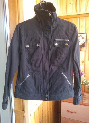 Куртка жакет пиджак черная