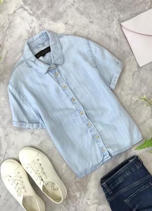Стильная женская укороченная рубашка из летней ткани   bl1828078  topshop