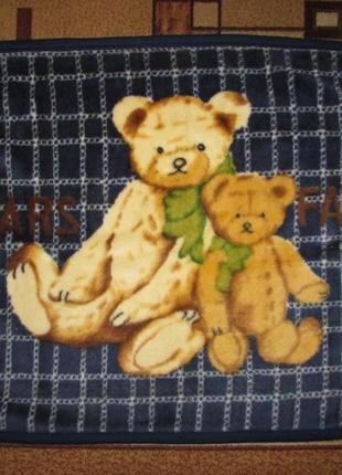 Плюшевое одеялко плед малышу