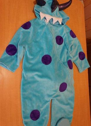 Little pretend to bee костюм монстра на хэллоуин 1-1,5 года